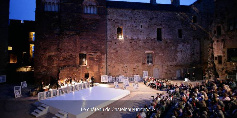 Concert chateau castelnaud bretenoux