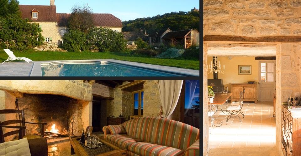 Maison d h tes avec piscine dans la vall e de la dordogne - Chambres d hotes vaison la romaine avec piscine ...