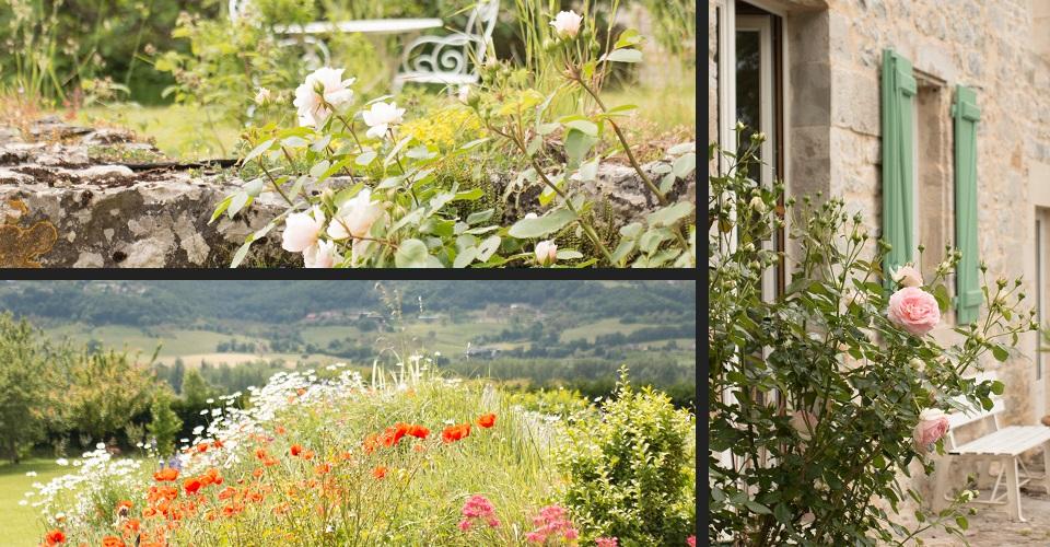 maison d'hôtes avec jardin et pré arboré