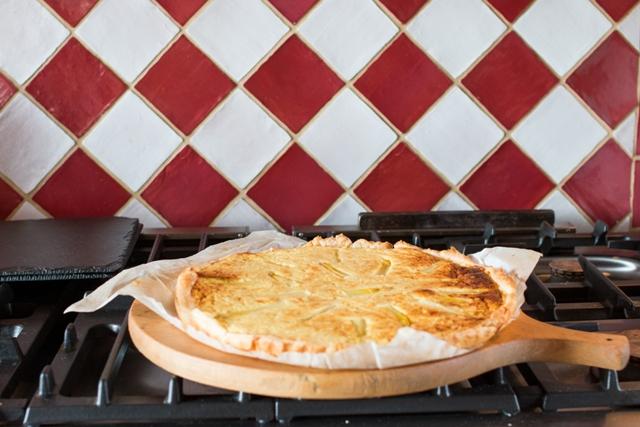 cuisine-maison-table-hotes-Quiche-asperges