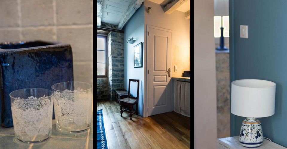 chambre bleus doux touche de fraicheur