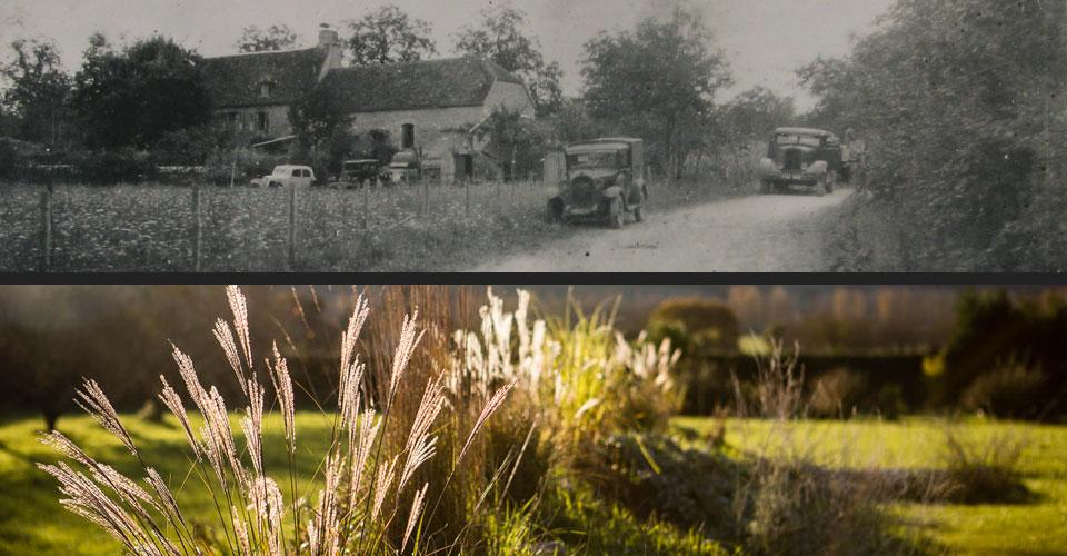 ancien relais de chevaux avec caractère et jardin
